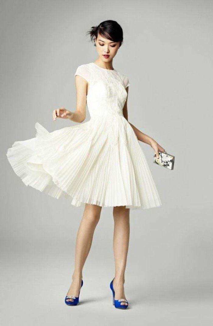050287ab94 ▷ 1001+ ideas de vestidos de novia cortos y elegantes