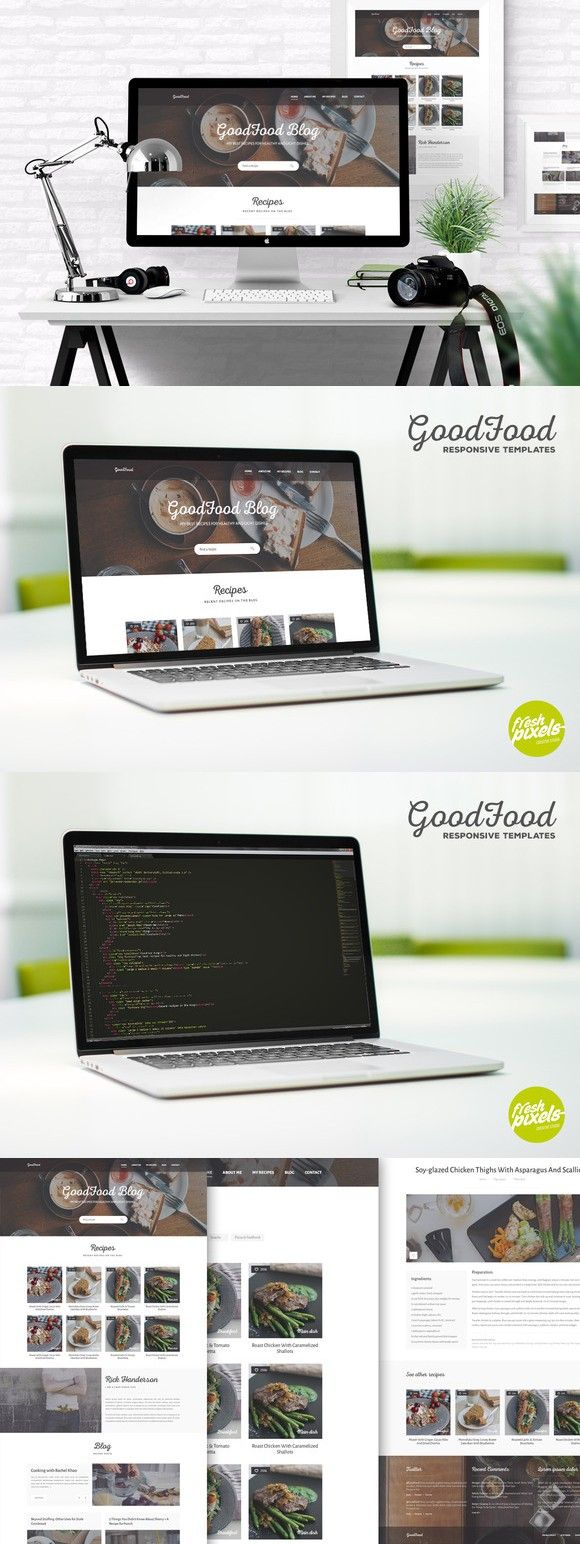 GoodFood - Responsive HTML5 Template. HTML/CSS Themes. $13.00 ...