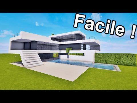 Comment Faire Une Maison Dans La Jungle Sur Minecraft Tutoriel Youtube Maison Moderne Minecraft Plan Maison Minecraft Maison Minecraft