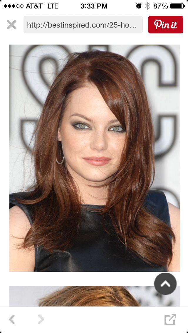 Medium length hairstyle   Round face haircuts, Womens ...