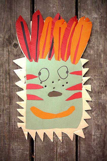originales caretas de cartulina para hacer en casa para carnaval y halloween