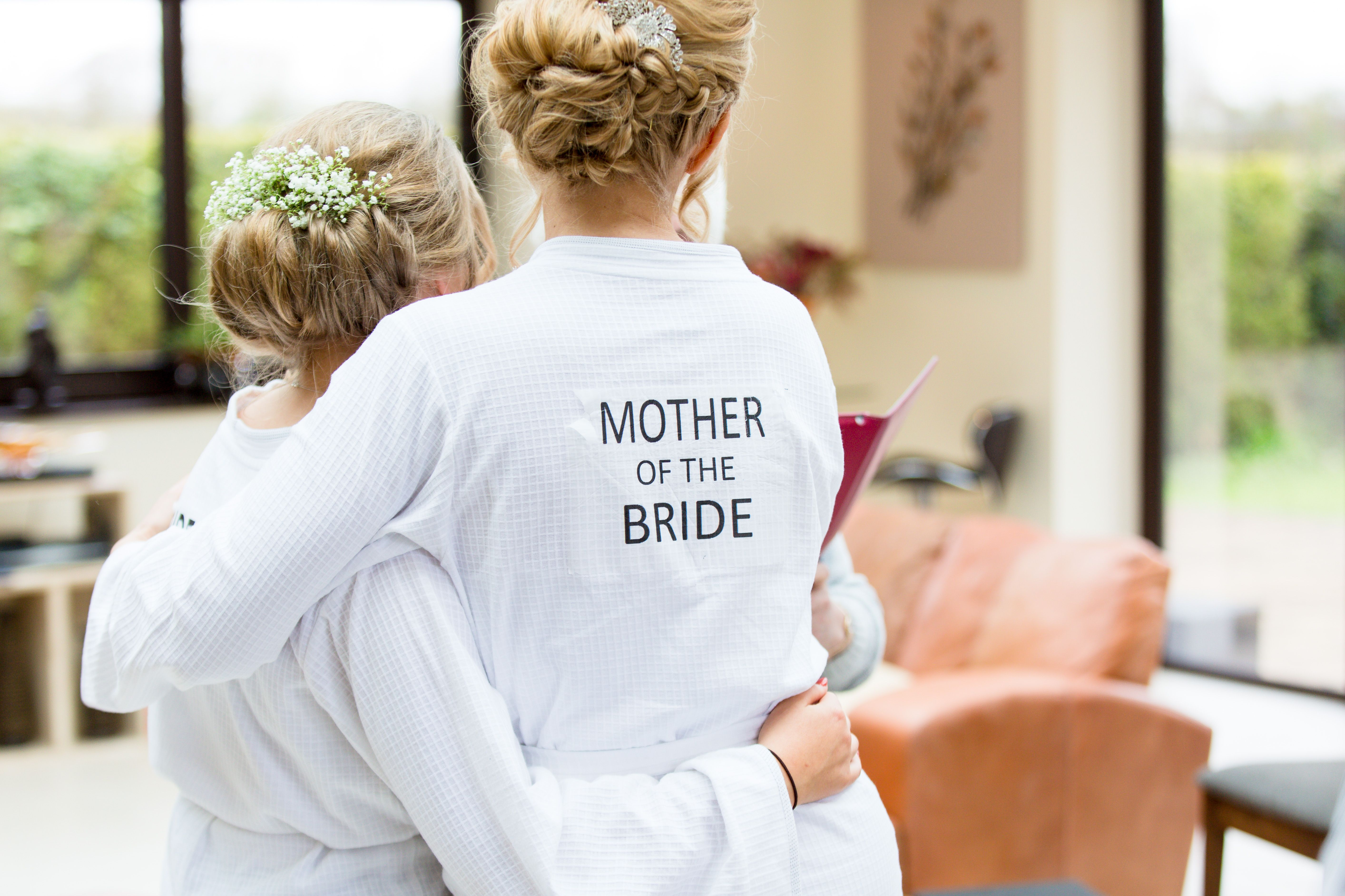 Personalised mother of the bride dressing gown. #wedding ...