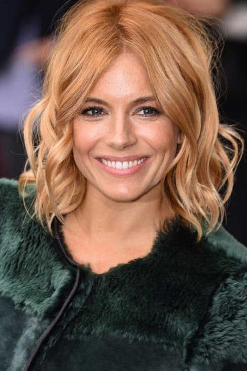 20 Sienna Miller Bob Hair Bob Haircut And Hairstyle Ideas Celebrity Bobs Hairstyles Strawberry Blonde Hair Color Bob Hairstyles