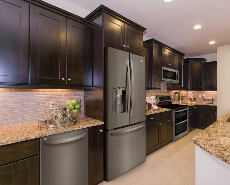 The Hottest Appliance Finishes Of 2016 Black Stainless Steel Kitchen Black Stainless Steel Appliances Stainless Steel Kitchen Appliances
