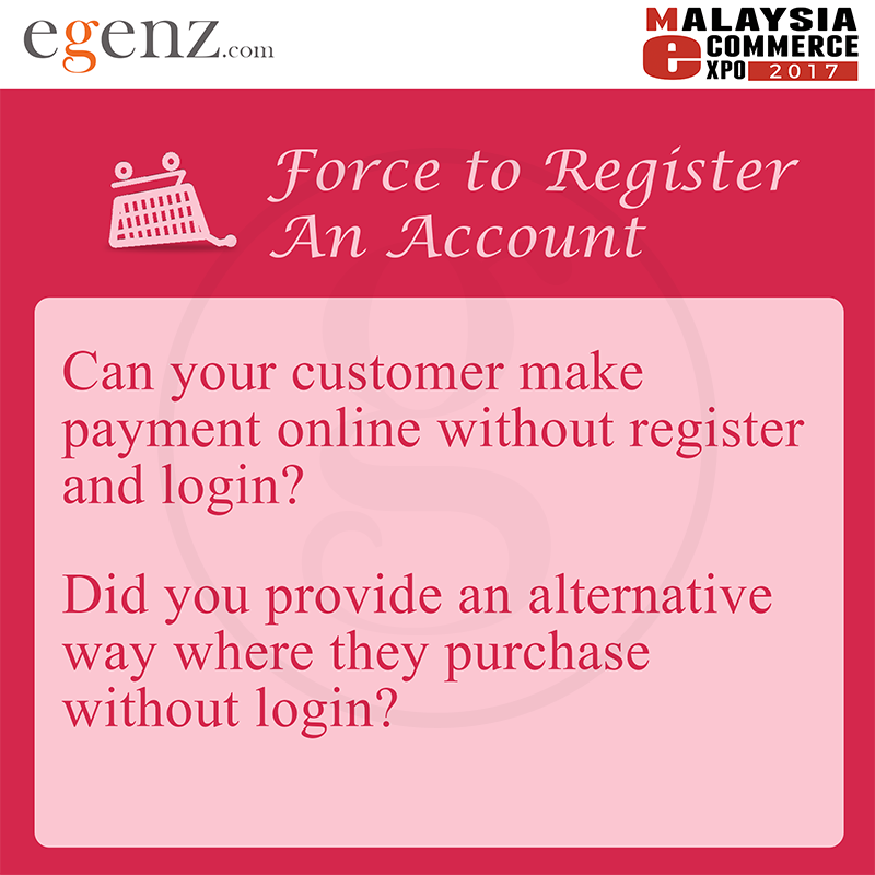 A lot of time we thought if user register we able to keep