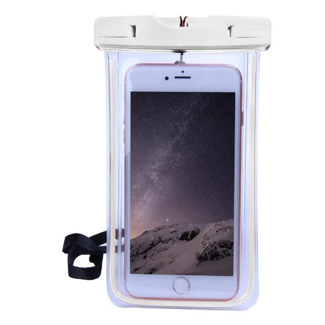 Universal Waterproof Case For iPhone 5S 6 6S 7 Plus ...