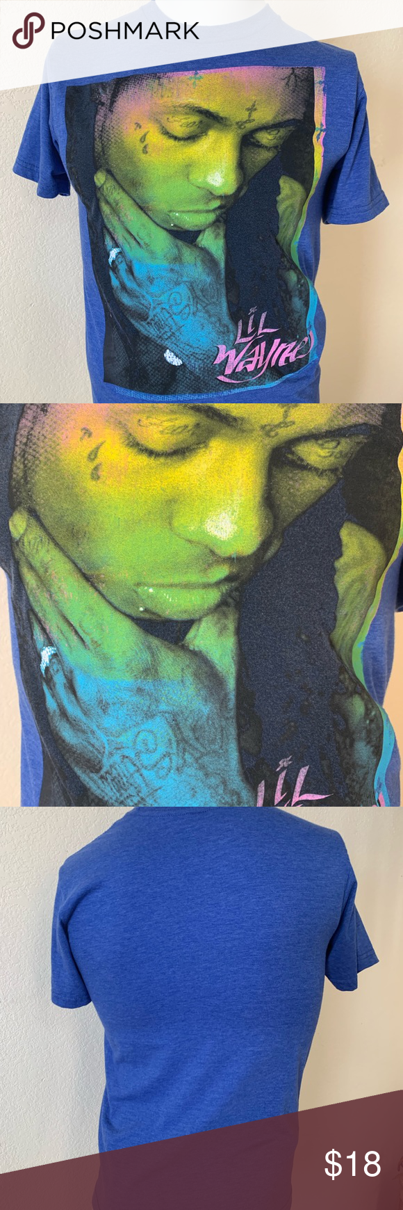 Live Nation Lil Wayne T-shirt Live nation merchandise lil Wayne great condition awesome graphics tee shirt Shirts Tees - Short Sleeve #lilwayne Live Nation Lil Wayne T-shirt Live nation merchandise lil Wayne great condition awesome graphics tee shirt Shirts Tees - Short Sleeve #lilwayne