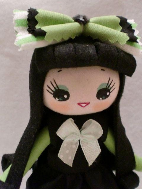 Halloween pose doll