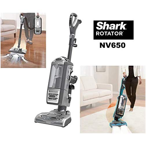 Shark Nv650 Series Rotator Powered Lift Away Upright Hard Floor And Carpet Vacuum Cleaner Gray Topvacuumscleaner In 2020 Upright Vacuum Cleaner Vacuum Cleaner Upright Vacuums