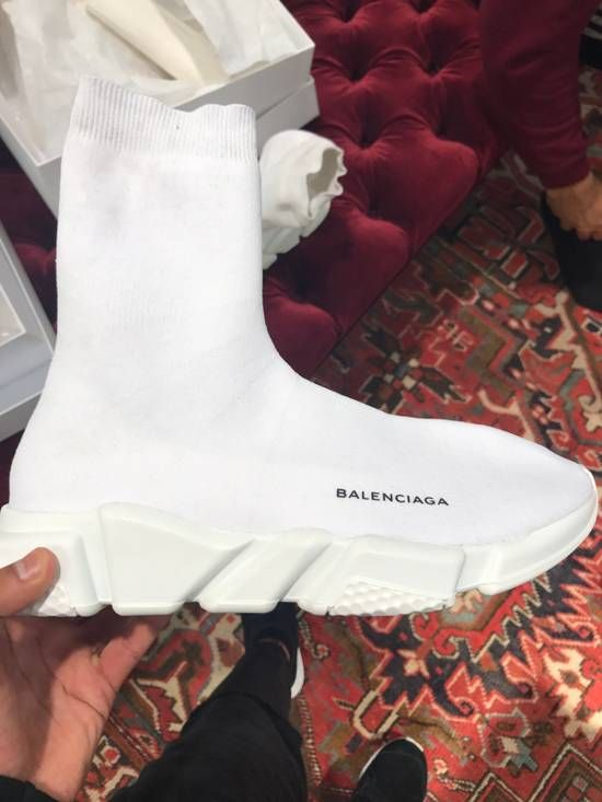 91be542d95c2 Balenciaga Speed Trainers Size 10 - Hi-Top Sneakers for Sale - Grailed