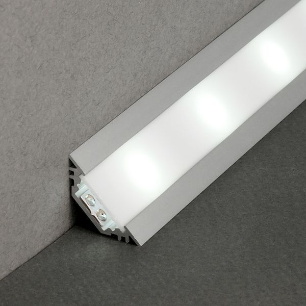 Kit Profiles 2m Led Aluminium Encastrable En Angles Pour Bandeau Led Bandeau Led Ruban Led Led