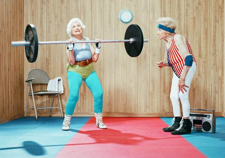Photographer Dean Bradshaw takes a humorous slant on sport-themed advertising by replacing typically youthful models with elderly athletes. [via ufunk] Previously: Elizabethan Versions of Pop Culture Characters (15 Pics)