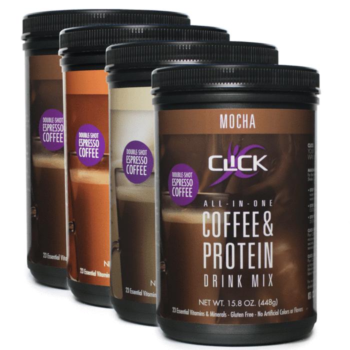 CLICK Coffee Protein Coffee Protein Powder Mocha CLICK