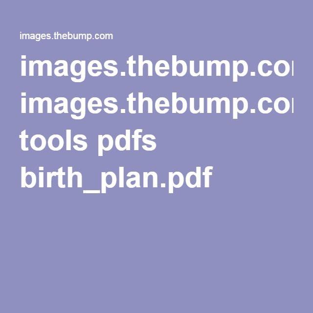 imagesthebumpcom tools pdfs birth_planpdf