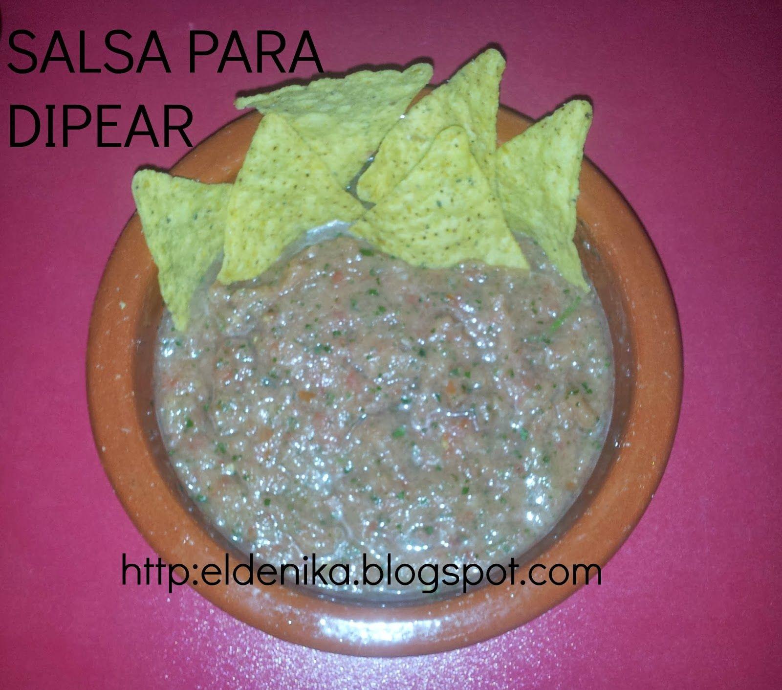 Deliciosa salsa para dippear, sana y apta para todo tipo de dietas   http://eldenika.blogspot.com.es/2014/01/te-gusta-dippear.html