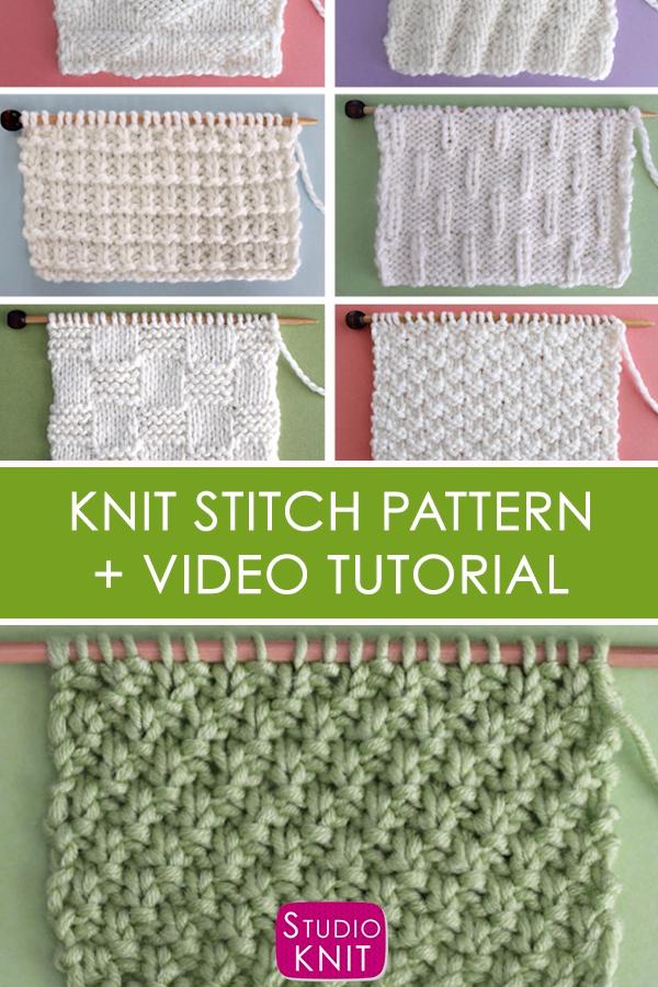 Photo of Irish Moss Stitch (Knitting Pattern)