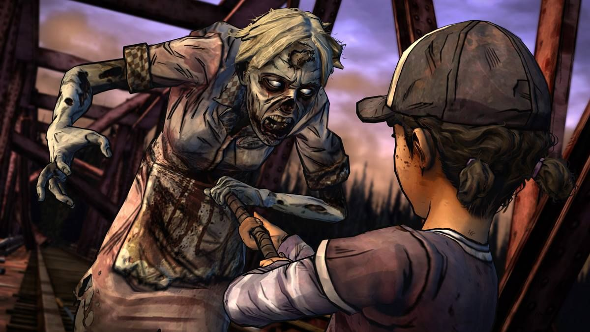 Two new screenshots from The Walking Dead: Season Two – Episode 2: A House Divided