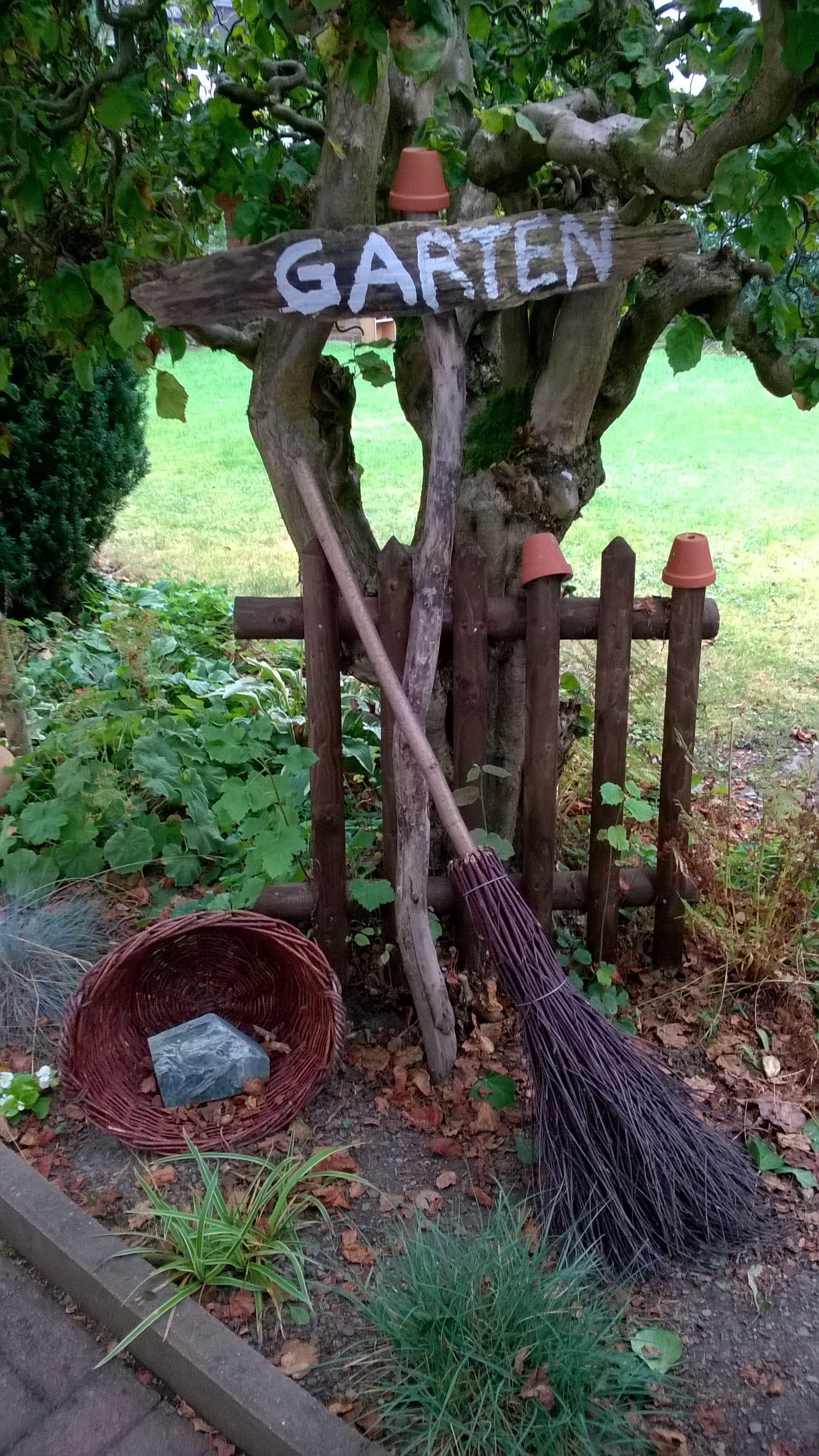 Deko Ideen Holz Garten T Raume Mit Bildern Garten Deko Gartenschilder