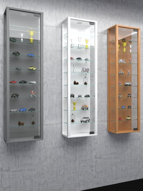 Stano Maxi Wall Mounted Display Cabinet Miniaturas Carrinhos