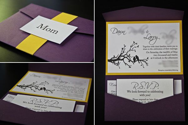 Top 25 ideas about diy wedding invitations ideas – Do It Yourself Wedding Invitations Ideas