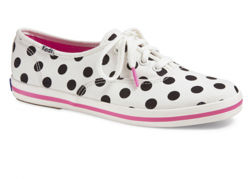 DIY Kate Spade Inspired Polka Dot Keds - Effortless Style Blog