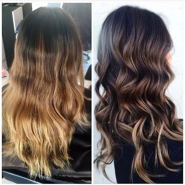 Right Dark With Soft Honey Accents Brunette Hair Color Hair