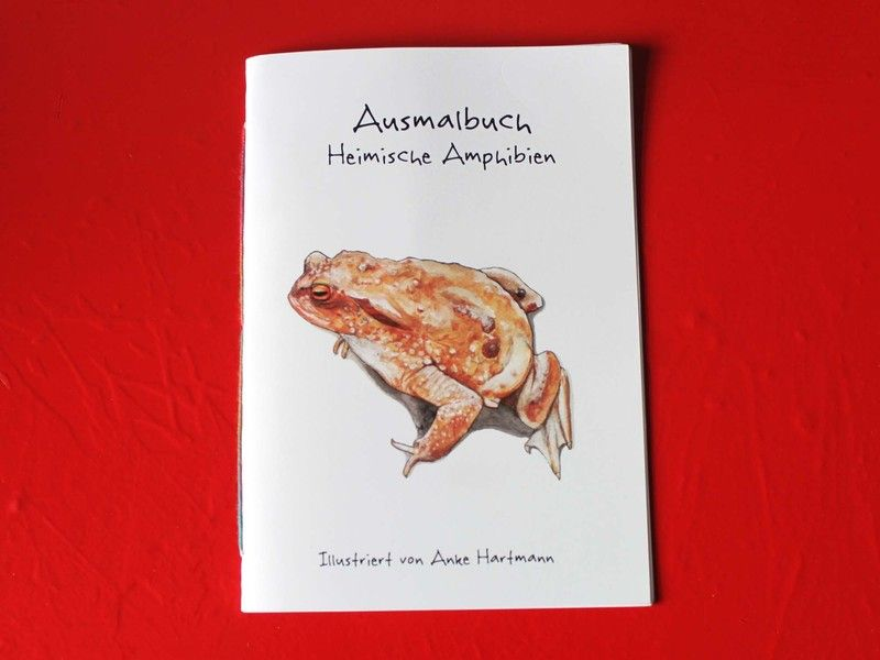 Es handelt sich hierbei um ein liebevoll hergestelltes Ausmalbuch im Din A5 Format (250g Papier). Ein kleiner Auszug aus der heimischen Tierwelt warte