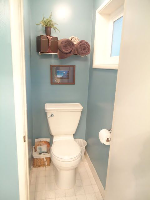 Valspar summerhouse blue paint idea for guest bathroom for Good housekeeping bathrooms