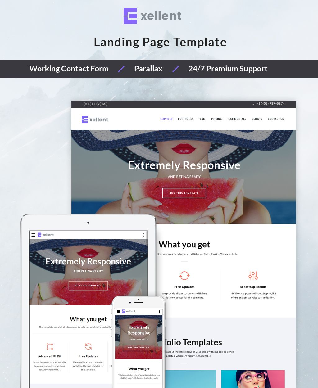 Startup Landing Page HTML5 Template | New Website Templates ...