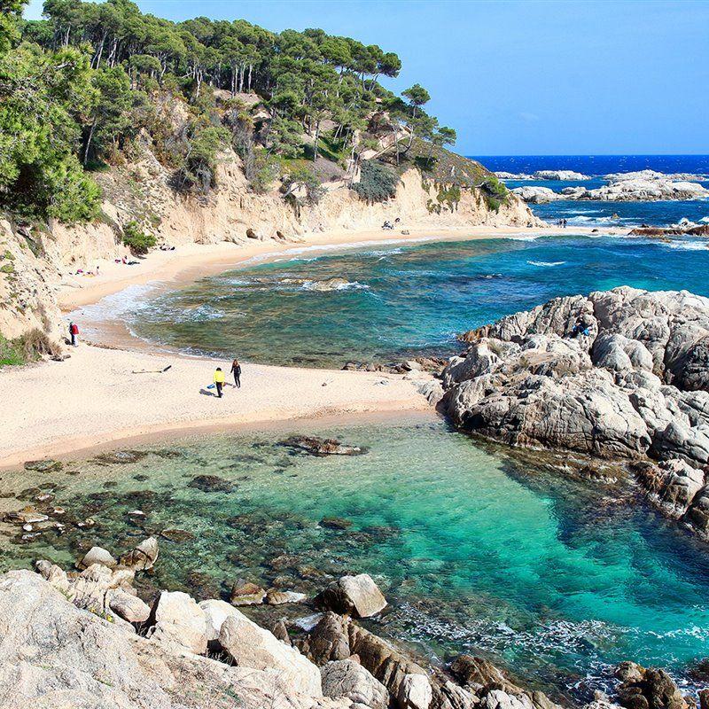 Cala Estreta Guirnaldas De Playa Mejores Playas Costa Brava Costa