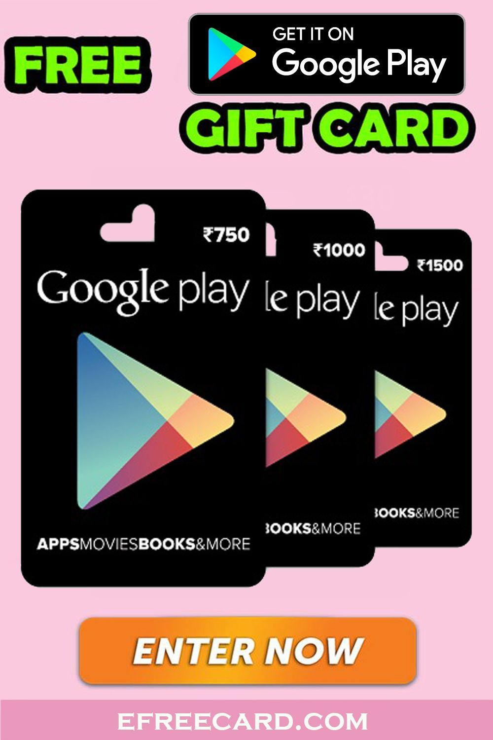 How to get redeem code for play store Win Playstore