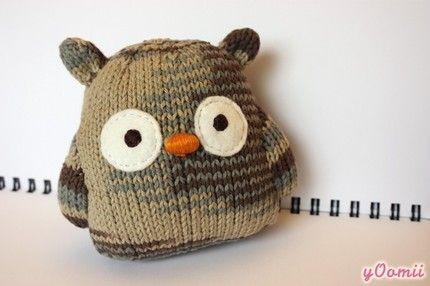 love owls | Owls | Pinterest | Eule, Kuscheltiere und Stricken
