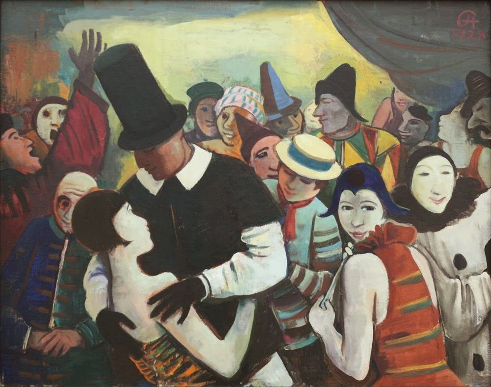 Hofer Badezimmerschrank ~ Carl hofer paintings karl hofer grosser karneval 1928 karl hofer