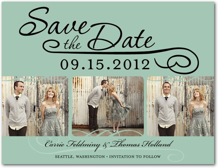 Wedding Save The Date Cards | Guest List, Wedding And Weddings
