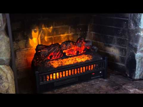 Put That Non Working Fireplace To Use Our Electric Log Heater Fireplace Insert Is A Beautiful Way To Set Electric Fireplace Logs Electric Fireplace Fireplace