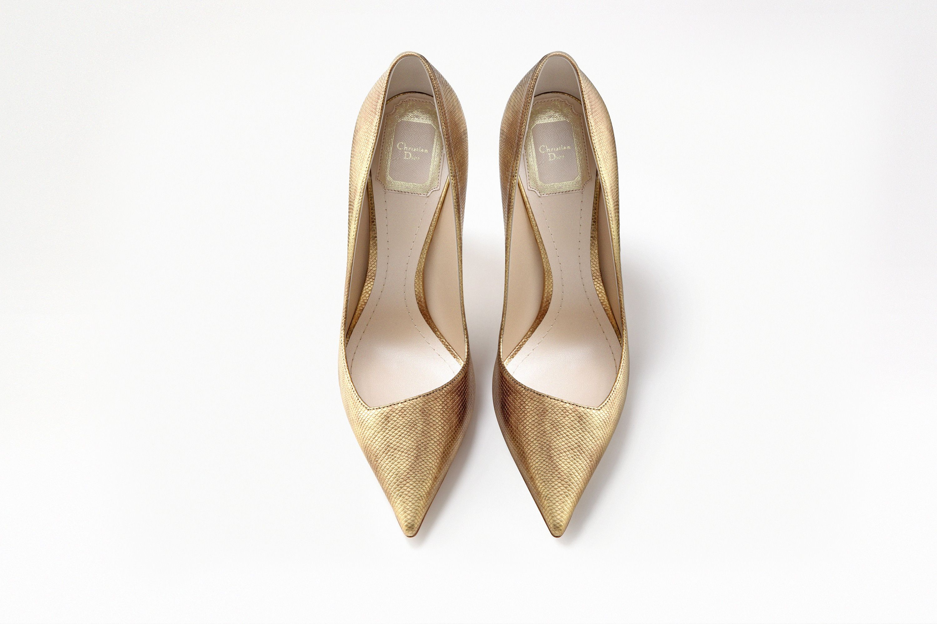 or watersnake pointed-toe pump, 10 cm - Shoes Dior