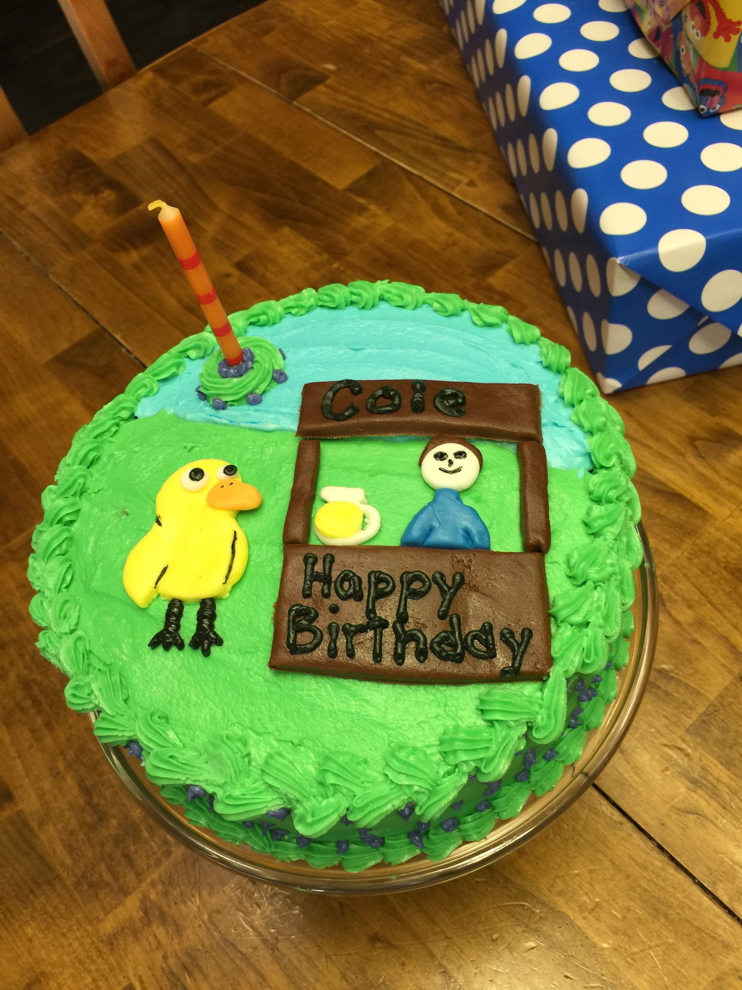 The Duck Song Cake Cake Ideas Pinterest Cake Cookie