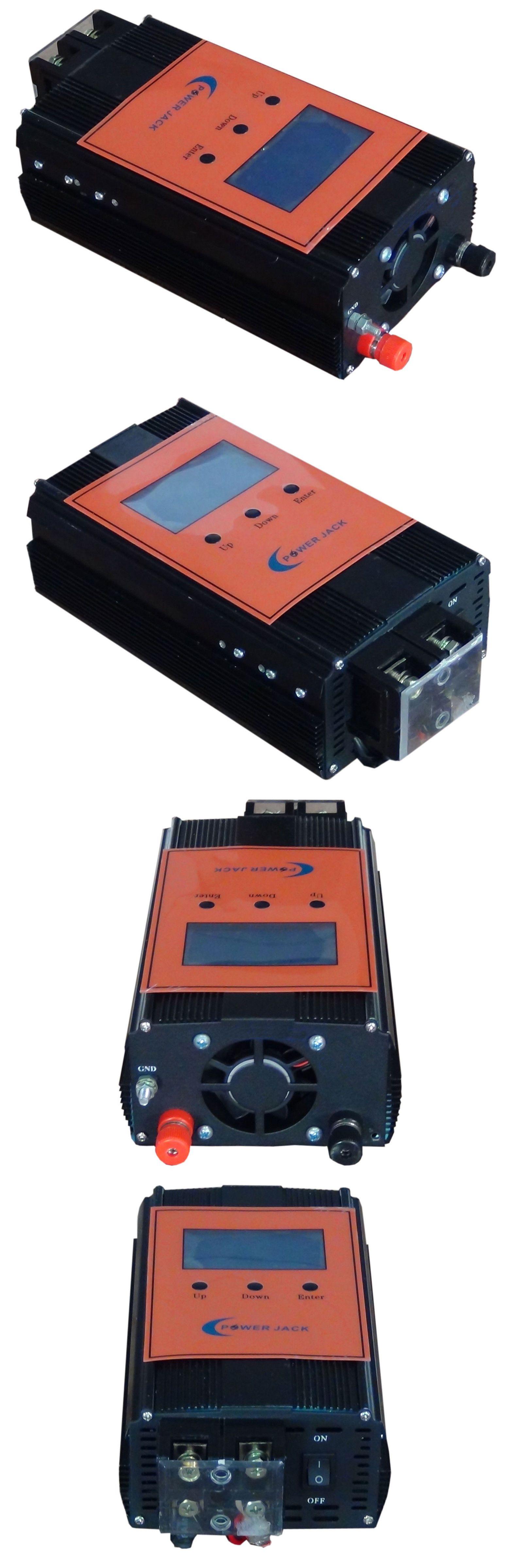 Details About 2400w Smart Solar Controller Dc12v 24v Mppt 100amp Solar Panel 3 5 Lcd Power Inverters Solar Panels Solar Energy