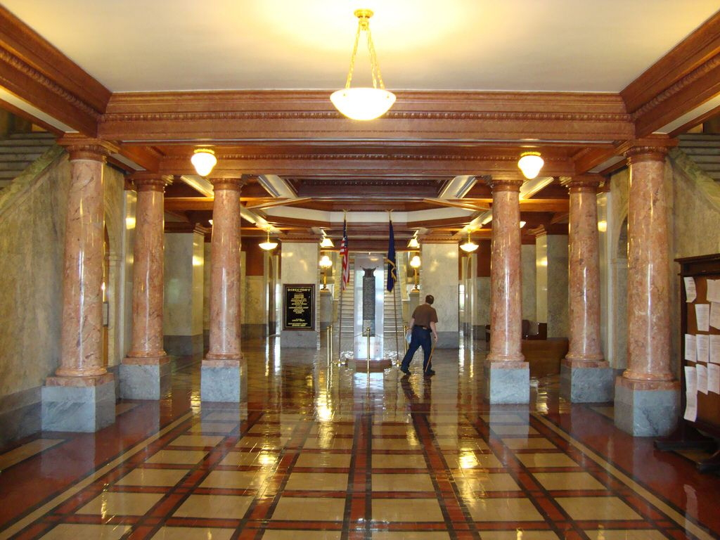 Peachy Inside Of Dekalb County Courthouse Auburn In Memorable Download Free Architecture Designs Scobabritishbridgeorg