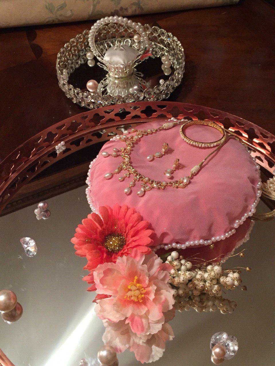 Engagement jewellery dala. | Tanzir Weds Lubna-Bengali Wedding ...