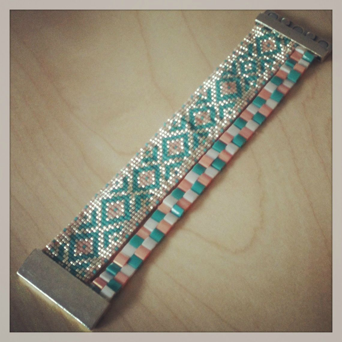 Image Result For Bracelet Perle Metier A Tisser Beaded Jewelry En