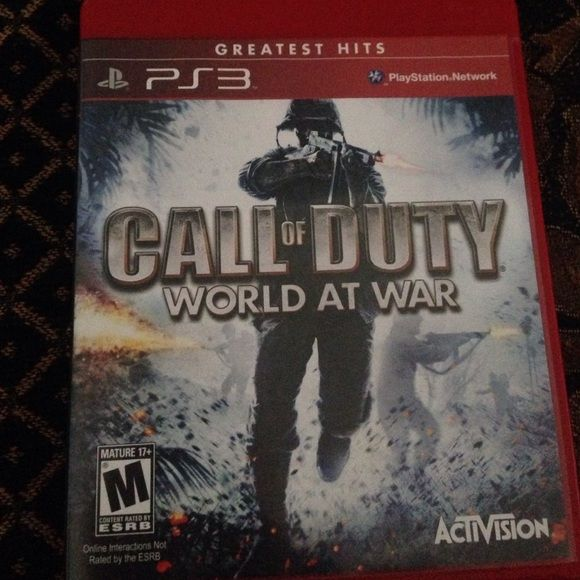 Call Of Duty World At War Mature Rating