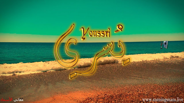 معنى اسم يسري وصفات حامل هذا الاسم Yousri Outdoor Outdoor Decor Pool Float
