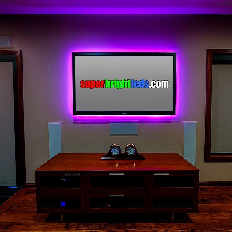 Nfls Rgb150 Kit Color Changing Flexible Led Light Strip Kit Top Media Room Led Strip Lighting Strip Lighting