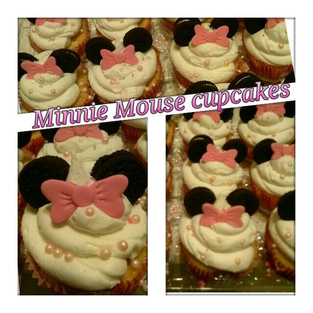 #Minnie Mouse cupcakes