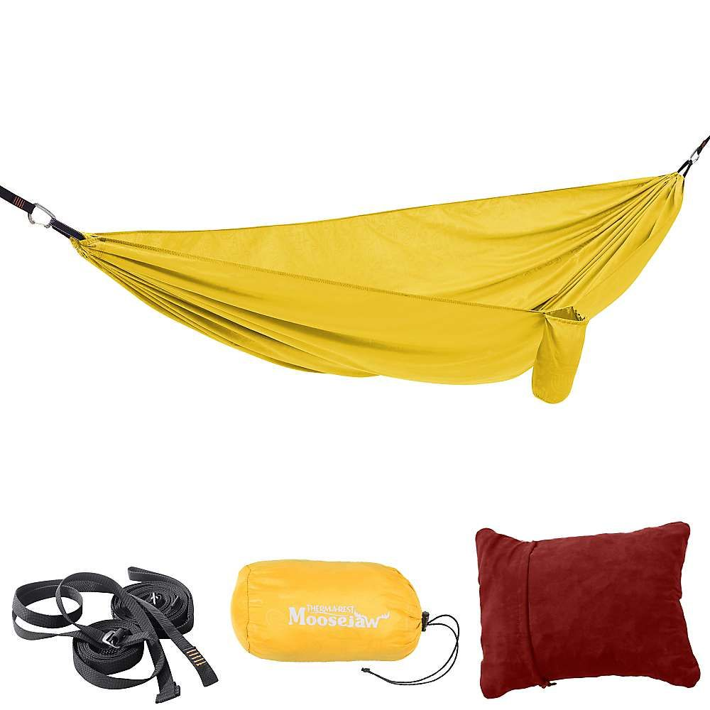 Moosejaw colab nappetizer hammock kit by thermarest products