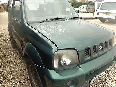 eBay: +++SPARES OR REPAIR+++ SUZUKI JIMNY JLX 2001 #carparts ...