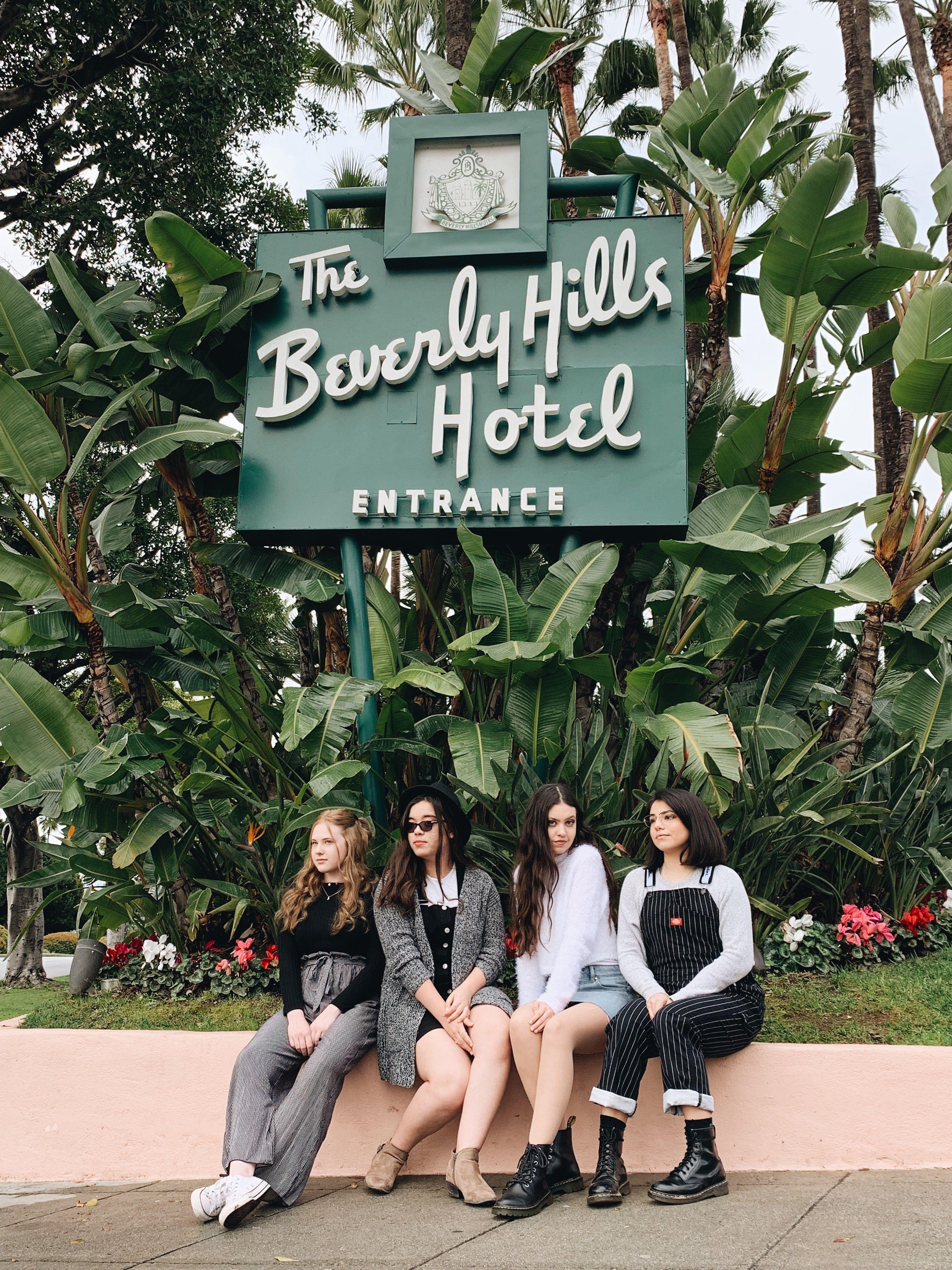 Best Friends, Beverly Hills Hotel, Cute Instagram Idea