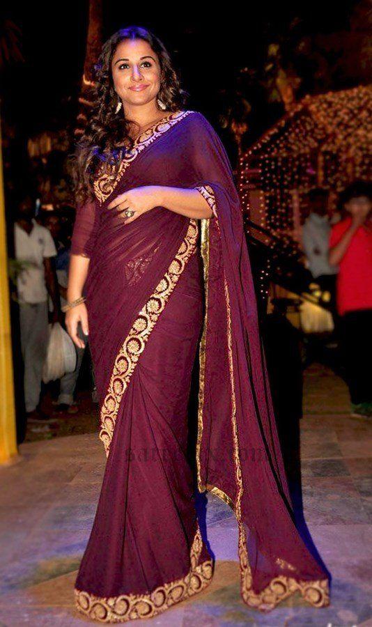 ea3ab7f3386c7 What can be tips for a fat girl for wearing saree  - Quora