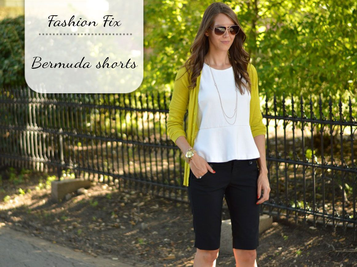 Fashion Fix: Bermuda shorts - My Simply Special